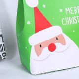 Nuevo Venta caliente bolsas de papel de la bolsa de regalo de Navidad para el embalaje de manzana