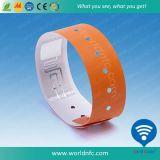 Wristbands de um Sli-S do Eu-Código do papel do uso do tempo