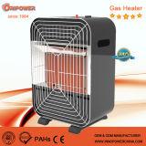 Pequeño calentador de cerámica de gas