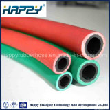 El acetileno y oxígeno del aire de soldadura de tubo de gas