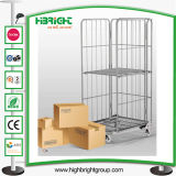 3 Lados Nestable Roll cage contentor