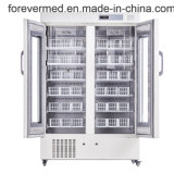 La banque de sang de 4 degrés d'un réfrigérateur BPBR660