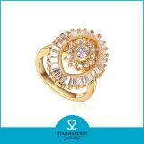 En forma de flor Imiatation anillos de oro de diseño para la Mujer (SH-J0057R)