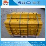 As peças do material rodante 3135UM-450 Placa Sapatas forjadas para Bulldozer da escavadeira