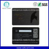 Cartão de visita colorido do PVC Personliazed com código de Qr