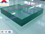 vidrio laminado del edificio de la seguridad del claro de 6.38m m con alta calidad