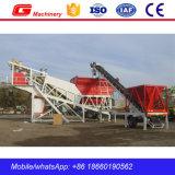 Usine de traitement en lots concrète portative du mobile Yhzs35 de la Chine à vendre