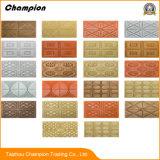 2018 preiswerte InnenWand der wand-Decken-Dekoration-3D lederne der Tapeten-3D für Baumaterialien, heißer Syene Luxuxschaumgummi-nichtgewebter Tapete PET Schaumgummi