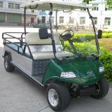 Elektrisches Hilfsflaches Bett-LKW Flatcar mit 2-Seater