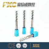 Hohe Präzision 2/4 Flöte-Karbid-quadratischer Prägescherblock für Aluminium