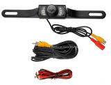 Водоустойчивая камера автомобиля Rearview номерного знака ночного видения иК