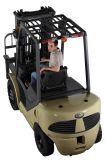 Caminhão de Forklift da gasolina da capacidade 3000kgs com motor de Nissan