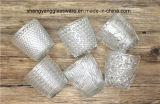 Продукты стеклянного дома подсвечника украшений чашки свечки стеклянные