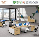 L 모양 반환 (H90-0207)를 가진 사무실 매니저 멜라민 사무실 책상