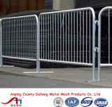 Barrera de seguridad temporal del control de muchedumbre del tráfico de la cerca