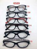Glazen, het Optische Frame van de Acetaat en van het Metaal, Optisch Frame