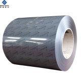 Couleur métal prépeint produit stuc recouvert de feuille en aluminium gaufré/bobine