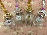 frasco de perfume de vidro vazio do diamante 8ml, frasco de vidro do carro da fragrância