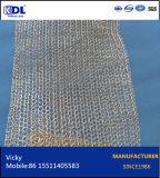 Rete metallica lavorata a maglia dell'alluminio/rame/acciaio inossidabile