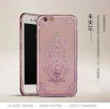 Diamond Flower Tampa TPU Caso Telefone para iPhone 6s6