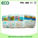 Um tecido 100% descartável do bebê de Nigéria da absorvência elevada do algodão do baixo preço da classe