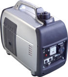 gerador portátil de cobre colorido da gasolina de 650W 100% com baixo ruído