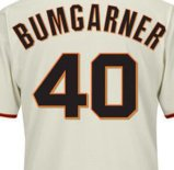 Homens Mulheres Crianças de San Francisco Giants Madison Bumgarner camisolas de beisebol da base legal