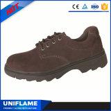 Uomini di gomma di cuoio Ufa049 dei pattini di sicurezza del lavoro della pelle scamosciata