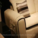 Canapé haut de gamme noir de style européen pour la salle de séjour