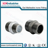 Galvanized & Black Malleable Iron beep to pipe fitting 245reducerd Hex Nipple
