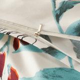 可逆印刷されたMicrofiberの羽毛布団カバー寝具セット3部分の