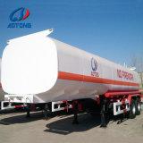 Heißer Verkauf 2axle 40000 Liter Kraftstoff-Tanker-Schlussteil-/halb Schlussteil
