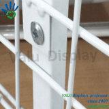 Cremalheira do suporte do frame do fio de metal para lojas e armazenamentos do supermercado
