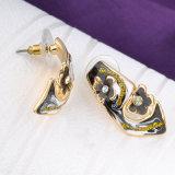 中国の青および白い磁器の水晶エナメルの金によってめっきされる宝石類セット