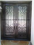 Portas de entrada do ferro feito de tomada de fábrica de Irnamental