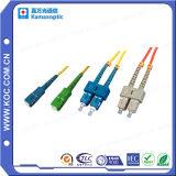 Puente óptico de la cuerda de corrección de fibra