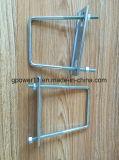 HDG doble cable de anclaje de racor de tubería de alimentación de alambre tensor de la oferta de cierre de la cuerda de alambre de acero