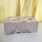 Caja de embalaje de papel personalizado para el vestido de novia Embalaje WB1012