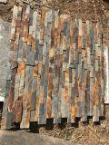 자연적인 녹스는 슬레이트 호리호리한 얇은 모자이크