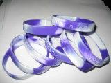 Vente chaude Bracelet en silicone coloré Concave