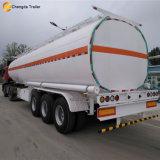 2017 remorque de camion-citerne d'essence de l'essieu 40000liter du carburant diesel 3