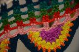 袖なしのハンドメイドのかぎ針編みのカーディガンのベストの方法