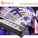 Luz da arruela da parede da fachada do diodo emissor de luz RGB 36W DMX de Oudoor