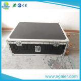 Caja de aluminio del vino del caso del vuelo de la caja del hardware del estante de la calidad excelente