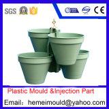 プラスチック型、プラスチック部分の注入