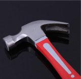 Américain de type Outil à main marteau à panne fendue avec manche en fibre de verre