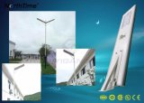 Alto brillo LED 30W Lámpara Solar calle con un panel solar