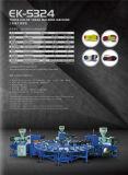 Het Vormen van de Injectie van EVA van het slepen/Drie Kleur Machine met Servo