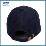 Tampão feito sob encomenda de Hip Hop do algodão do painel da parte traseira 6 da cinta do chapéu do paizinho