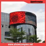 P8 옥외 광고 LED 게시판